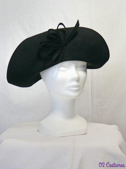 chapeau feutre années 20