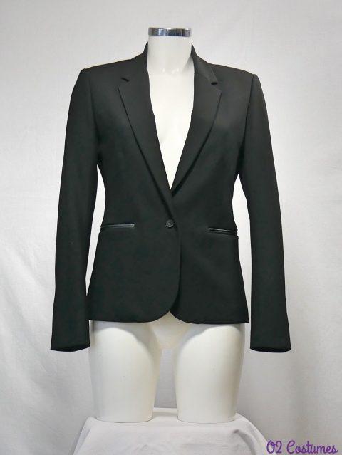 veste tailleur noire
