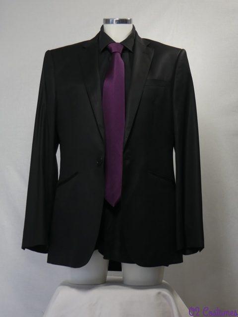costume noir pour homme
